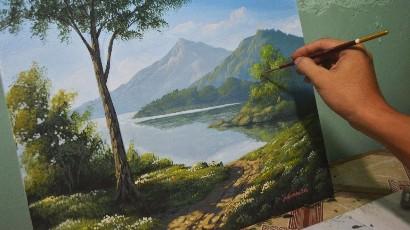 Landschap schilderen