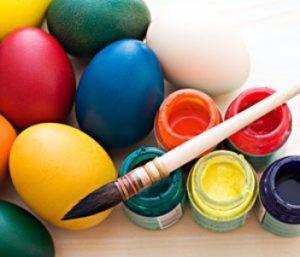 Paaseieren schilderen