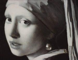 Portret schilderij
