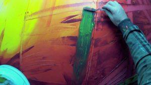 Betere Abstract schilderen met acrylverf? | Filmpje en stappenplan! JI-23