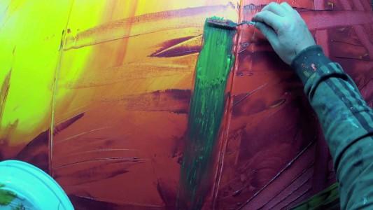 Fonkelnieuw Abstract schilderen met acrylverf? | Filmpje en stappenplan! VS-88