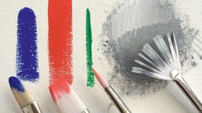 Acrylverf tips