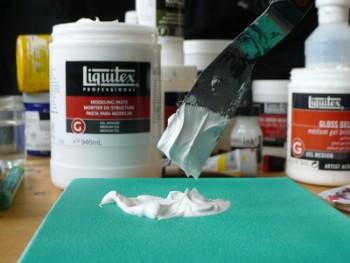 Acrylverf mediums gebruiken